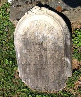 FRAZER, W. E. - Adair County, Kentucky   W. E. FRAZER - Kentucky Gravestone Photos