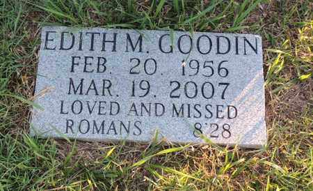 GOODIN, EDITH M - Adair County, Kentucky | EDITH M GOODIN - Kentucky Gravestone Photos