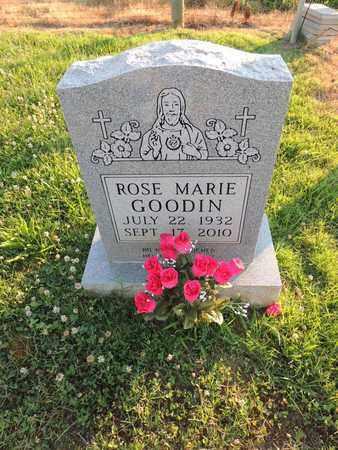 GOODIN, ROSE MARIE - Adair County, Kentucky   ROSE MARIE GOODIN - Kentucky Gravestone Photos