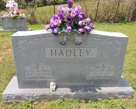 HADLEY, EDD L - Adair County, Kentucky | EDD L HADLEY - Kentucky Gravestone Photos