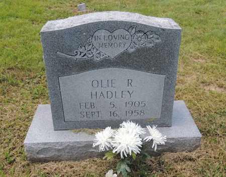 HADLEY, OLIE R - Adair County, Kentucky | OLIE R HADLEY - Kentucky Gravestone Photos