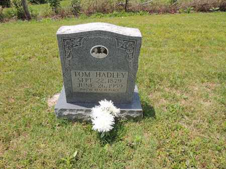 HADLEY, TOM FRAZIER - Adair County, Kentucky   TOM FRAZIER HADLEY - Kentucky Gravestone Photos