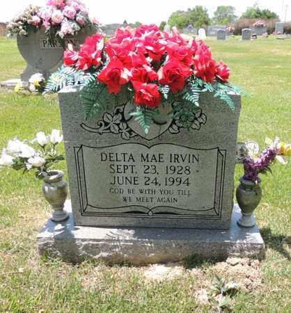 IRVIN, DELTA MAE - Adair County, Kentucky | DELTA MAE IRVIN - Kentucky Gravestone Photos