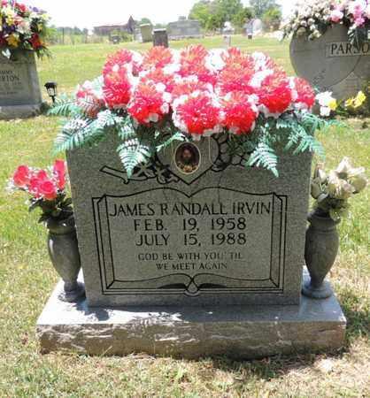 IRVIN, JAMES RANDALL - Adair County, Kentucky | JAMES RANDALL IRVIN - Kentucky Gravestone Photos