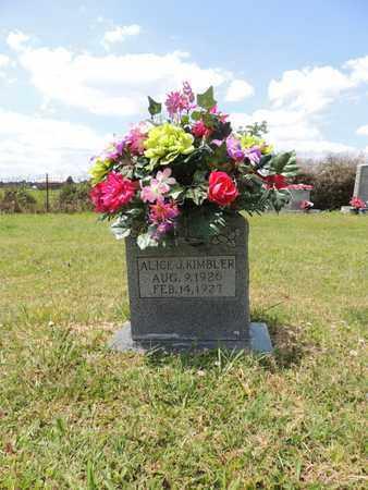 KIMBLER, ALICE J - Adair County, Kentucky | ALICE J KIMBLER - Kentucky Gravestone Photos