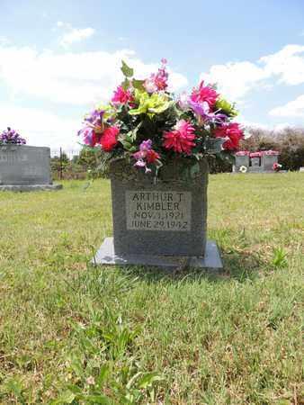 KIMBLER, ARTHUR T - Adair County, Kentucky   ARTHUR T KIMBLER - Kentucky Gravestone Photos