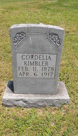 KIMBLER, CORDELIA - Adair County, Kentucky   CORDELIA KIMBLER - Kentucky Gravestone Photos