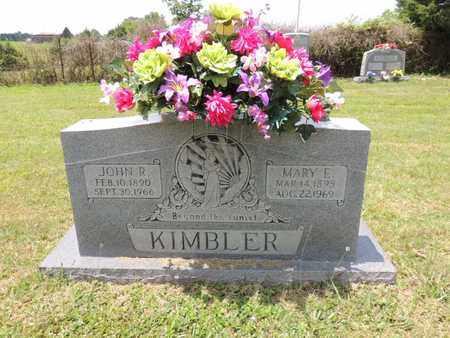 KIMBLER, JOHN R - Adair County, Kentucky | JOHN R KIMBLER - Kentucky Gravestone Photos