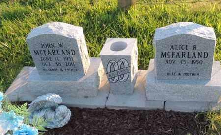 MCFARLAND, JOHN W. - Adair County, Kentucky | JOHN W. MCFARLAND - Kentucky Gravestone Photos