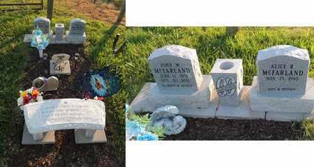 MCFARLAND, JOHN W - Adair County, Kentucky | JOHN W MCFARLAND - Kentucky Gravestone Photos