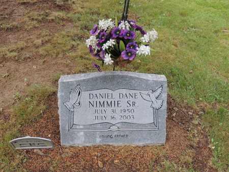 NIMMIE, SR., DANIEL DANE - Adair County, Kentucky | DANIEL DANE NIMMIE, SR. - Kentucky Gravestone Photos