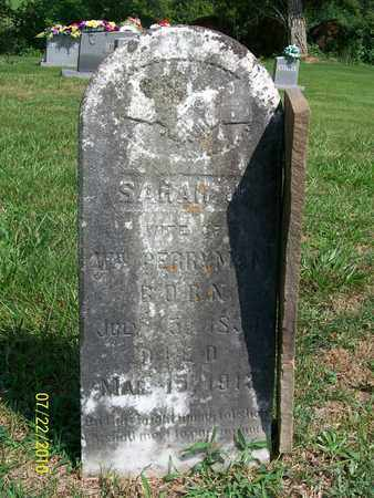 MCKINNEY PERRYMAN, SARAH JANE - Adair County, Kentucky | SARAH JANE MCKINNEY PERRYMAN - Kentucky Gravestone Photos