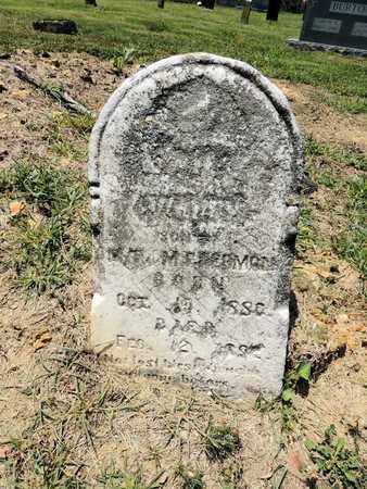PERRYMAN, UNKNOWN - Adair County, Kentucky   UNKNOWN PERRYMAN - Kentucky Gravestone Photos
