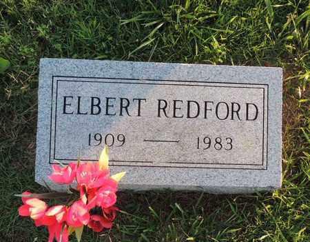 REDFORD, ELBERT - Adair County, Kentucky   ELBERT REDFORD - Kentucky Gravestone Photos