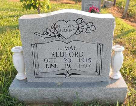 REDFORD, LILLIE MAE - Adair County, Kentucky   LILLIE MAE REDFORD - Kentucky Gravestone Photos