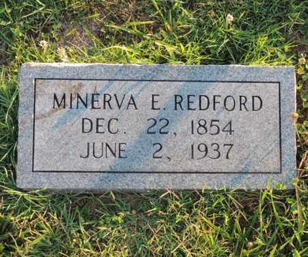 REDFORD, MINERVA ELIZABETH - Adair County, Kentucky | MINERVA ELIZABETH REDFORD - Kentucky Gravestone Photos