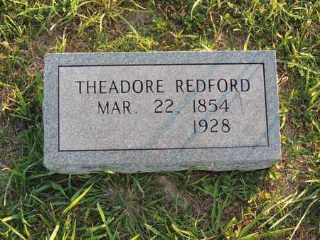REDFORD, THEADORE - Adair County, Kentucky | THEADORE REDFORD - Kentucky Gravestone Photos