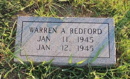 REDFORD, WARREN A - Adair County, Kentucky   WARREN A REDFORD - Kentucky Gravestone Photos
