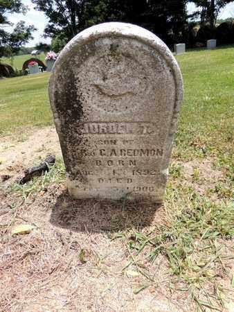 REDMON, JORDEN T - Adair County, Kentucky | JORDEN T REDMON - Kentucky Gravestone Photos