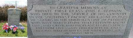 REDMON (VETERAN WWII), OTIS ELMER - Adair County, Kentucky | OTIS ELMER REDMON (VETERAN WWII) - Kentucky Gravestone Photos