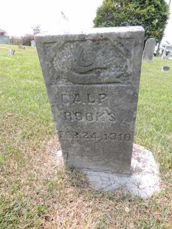 ROOKS, CALP - Adair County, Kentucky | CALP ROOKS - Kentucky Gravestone Photos