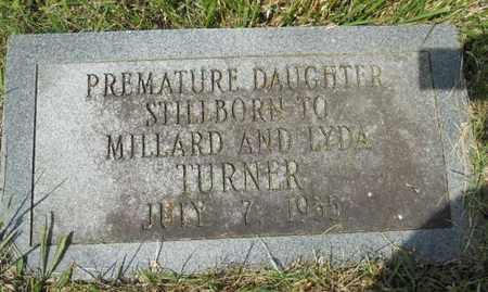 TURNER, DAUGHTER - Adair County, Kentucky | DAUGHTER TURNER - Kentucky Gravestone Photos