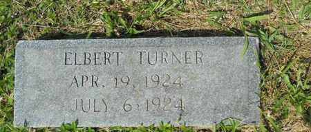 TURNER, ELBERT - Adair County, Kentucky | ELBERT TURNER - Kentucky Gravestone Photos