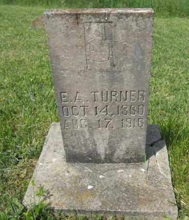 TURNER, ELIZA A - Adair County, Kentucky | ELIZA A TURNER - Kentucky Gravestone Photos
