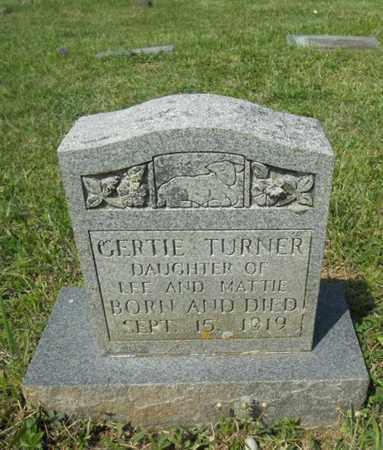 TURNER, GERTIE - Adair County, Kentucky   GERTIE TURNER - Kentucky Gravestone Photos