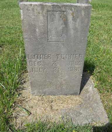 TURNER, JOHN LUTHER - Adair County, Kentucky | JOHN LUTHER TURNER - Kentucky Gravestone Photos