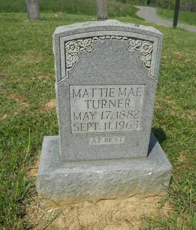 TURNER, MATTIE MAE - Adair County, Kentucky | MATTIE MAE TURNER - Kentucky Gravestone Photos