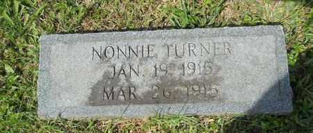 TURNER, NONNIE - Adair County, Kentucky | NONNIE TURNER - Kentucky Gravestone Photos