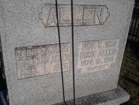 ALLEN, ISABELLA - Allen County, Kentucky | ISABELLA ALLEN - Kentucky Gravestone Photos