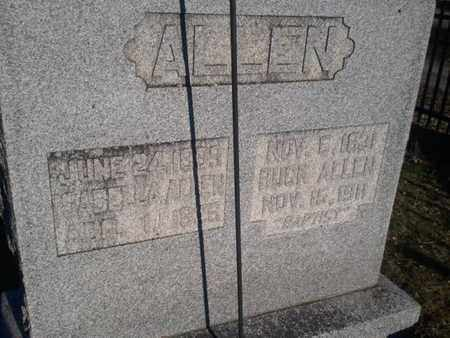 ALLEN, BUCK - Allen County, Kentucky   BUCK ALLEN - Kentucky Gravestone Photos