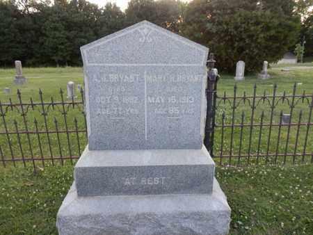 BRYANT, A.J. - Allen County, Kentucky | A.J. BRYANT - Kentucky Gravestone Photos
