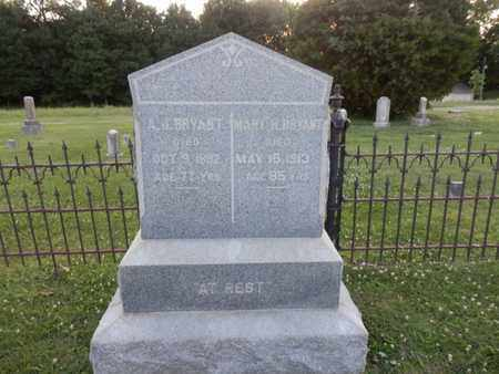 BRYANT, MARY H. - Allen County, Kentucky | MARY H. BRYANT - Kentucky Gravestone Photos