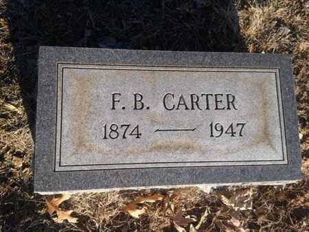 CARTER, F.B. - Allen County, Kentucky   F.B. CARTER - Kentucky Gravestone Photos