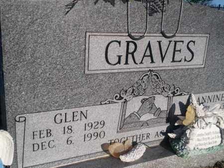 GRAVES, GLEN - Allen County, Kentucky | GLEN GRAVES - Kentucky Gravestone Photos