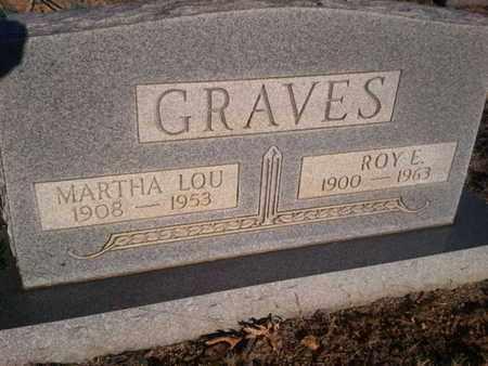 GRAVES, MARTHA LOU - Allen County, Kentucky | MARTHA LOU GRAVES - Kentucky Gravestone Photos