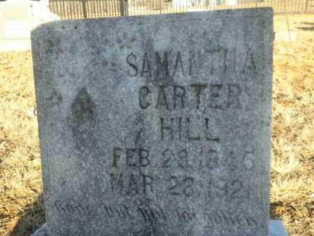 CARTER HILL, SAMANTHA - Allen County, Kentucky | SAMANTHA CARTER HILL - Kentucky Gravestone Photos
