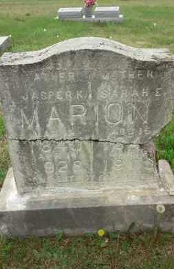 MARION, SARAH E. - Allen County, Kentucky | SARAH E. MARION - Kentucky Gravestone Photos