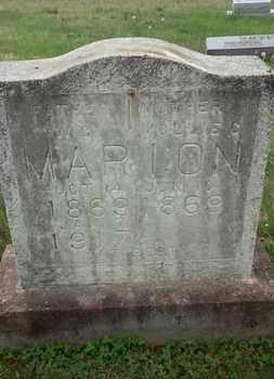 MARION, MOLLIE C. - Allen County, Kentucky   MOLLIE C. MARION - Kentucky Gravestone Photos