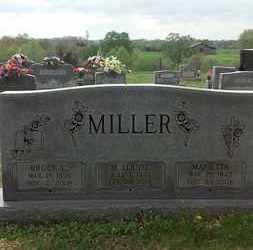 MILLER, M. LOUISE - Allen County, Kentucky | M. LOUISE MILLER - Kentucky Gravestone Photos
