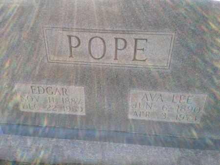 POPE, AVA LEE - Allen County, Kentucky | AVA LEE POPE - Kentucky Gravestone Photos
