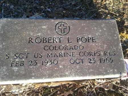 POPE (VETERAN), ROBERT L. - Allen County, Kentucky   ROBERT L. POPE (VETERAN) - Kentucky Gravestone Photos