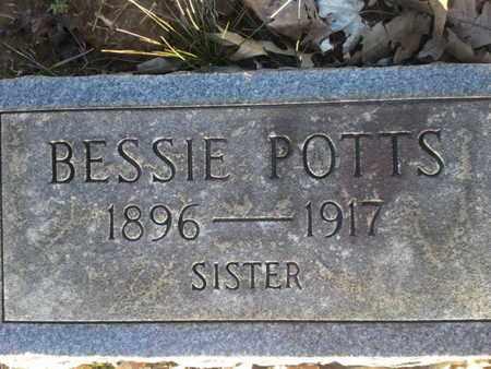 POTTS, BESSIE - Allen County, Kentucky   BESSIE POTTS - Kentucky Gravestone Photos