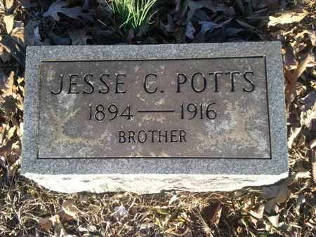 POTTS, JESSE C. - Allen County, Kentucky | JESSE C. POTTS - Kentucky Gravestone Photos