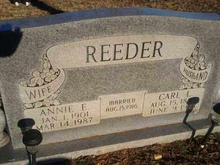 REEDER, ANNIE E. - Allen County, Kentucky | ANNIE E. REEDER - Kentucky Gravestone Photos