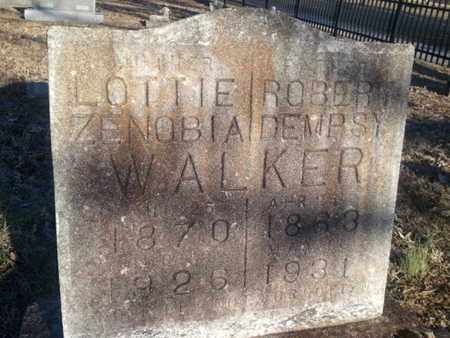 WALKER, LOTTIE ZENOBIA - Allen County, Kentucky | LOTTIE ZENOBIA WALKER - Kentucky Gravestone Photos