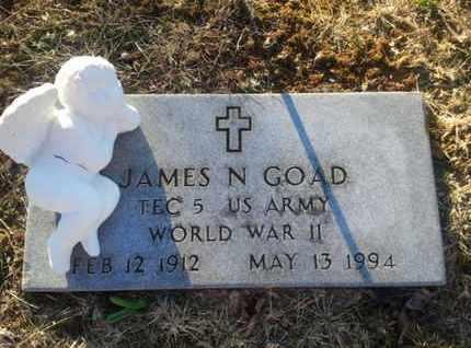 GOAD, JAMES N. - Allen County, Kentucky | JAMES N. GOAD - Kentucky Gravestone Photos